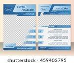 vector flyer template design....   Shutterstock .eps vector #459403795