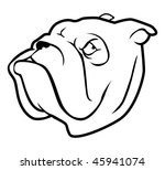 cartoon vector outline... | Shutterstock .eps vector #45941074