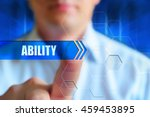"""""""ability"""" concept image. a man... 