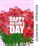 happy mothers day. large... | Shutterstock . vector #459461026
