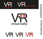 vr virtual reality logo ...