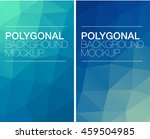 vertical polygonal banners   Shutterstock .eps vector #459504985