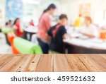look out from the table  blur... | Shutterstock . vector #459521632