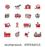 industry and logistics icons | Shutterstock .eps vector #459536515