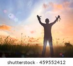 free and freedom concept ... | Shutterstock . vector #459552412