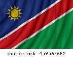 namibia flag vector... | Shutterstock .eps vector #459567682