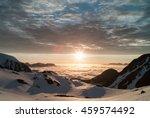 Midnight Sun In The Mountains...
