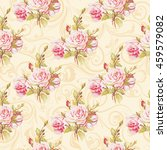seamless floral pattern with...   Shutterstock .eps vector #459579082