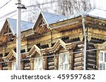 Wooden Lacy Architecture Of Ol...