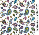 bright seamless pattern in...   Shutterstock . vector #459615955