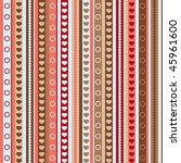 valentine's day pattern ... | Shutterstock .eps vector #45961600