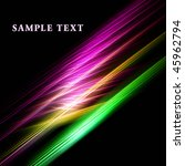 beautiful fractal template | Shutterstock . vector #45962794