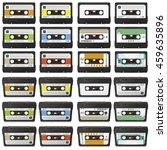 Large Retro Audio Tapes...