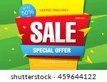 big sale banner  poster. sale... | Shutterstock .eps vector #459644122