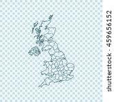 map of united kingdom   Shutterstock .eps vector #459656152
