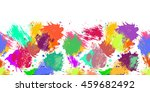 raster seamless pattern with... | Shutterstock . vector #459682492