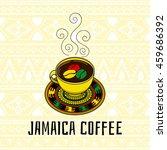 Jamaica Coffee Illustration....