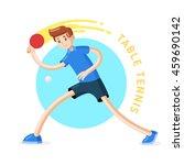 table tennis player | Shutterstock .eps vector #459690142