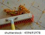 Sweeping Dry Leaves