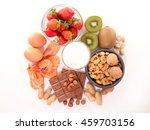 allergy food | Shutterstock . vector #459703156