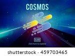 cosmos galaxy astronomy... | Shutterstock . vector #459703465