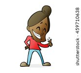 cartoon man snapping fingers | Shutterstock . vector #459710638