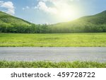 side view on country road whit... | Shutterstock . vector #459728722