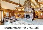 Bright Living Room Interior In...