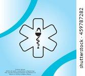 medicine  ambulance  icon | Shutterstock .eps vector #459787282