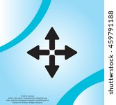 symbol arrows vector | Shutterstock .eps vector #459791188