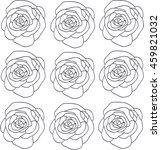 roses | Shutterstock .eps vector #459821032
