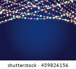 festive background with burning ... | Shutterstock .eps vector #459826156