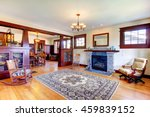 beautiful old craftsman style... | Shutterstock . vector #459839152