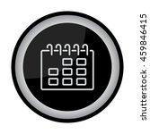 web line icon. calendar | Shutterstock .eps vector #459846415