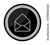 web line icon. open envelope   Shutterstock .eps vector #459846568