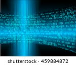 blue abstract cyber future... | Shutterstock .eps vector #459884872