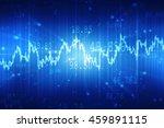 2d illustration business graph | Shutterstock . vector #459891115