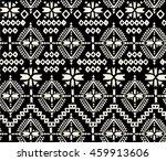 black and white tribal navajo   ... | Shutterstock .eps vector #459913606