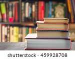 stack of books | Shutterstock . vector #459928708