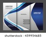 tri fold business brochure... | Shutterstock .eps vector #459954685