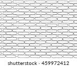 empty brick wall. pattern. hand ... | Shutterstock .eps vector #459972412