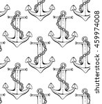 Seamless Anchor Pattern  Vecto...