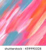 abstract color acrylic painted... | Shutterstock . vector #459990328