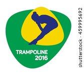 trampoline icon  rio icon ...   Shutterstock .eps vector #459995692