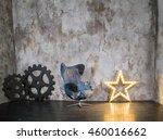 grunge studio. armchair. spare...   Shutterstock . vector #460016662