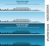 cape town event banner | Shutterstock .eps vector #460030045
