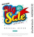 sale banner template design ...   Shutterstock .eps vector #460060132