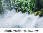mist nozzle water spraying... | Shutterstock . vector #460062295