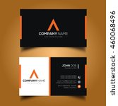 creative   simple corporate... | Shutterstock .eps vector #460068496