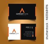 creative   simple corporate... | Shutterstock .eps vector #460068496